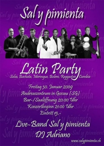 2009-01-30 Latin Party Gossau
